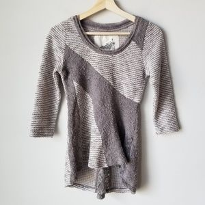 Anthropologie Angel of the North 3/4 Sleeve Blouse